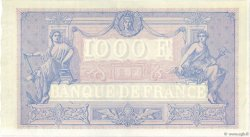1000 Francs BLEU ET ROSE FRANCE  1890 F.36.02 SUP