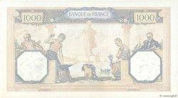 1000 Francs CÉRÈS ET MERCURE type modifié FRANCE  1939 F.38.38 SPL+