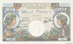 1000 Francs COMMERCE ET INDUSTRIE FRANCE  1944 F.39.12 NEUF