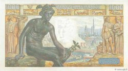 1000 Francs DÉESSE DÉMÉTER FRANCE  1942 F.40.01 NEUF