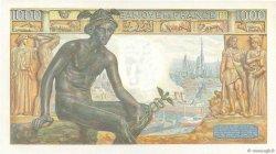 1000 Francs DÉESSE DÉMÉTER FRANCE  1942 F.40.03 NEUF