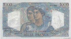 1000 Francs MINERVE ET HERCULE FRANCE  1949 F.41.28 NEUF