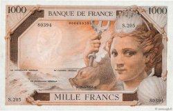 1000 Francs Amphitrite FRANCE  1954 F.42-- NEUF