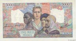 5000 Francs EMPIRE FRANÇAIS FRANCE  1946 F.47.53 SPL