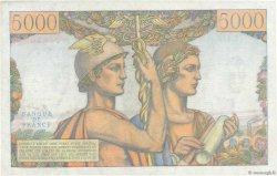 5000 Francs TERRE ET MER FRANCE  1953 F.48.10 pr.NEUF