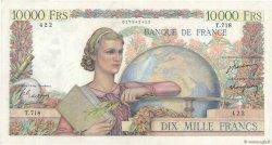 10000 Francs GÉNIE FRANÇAIS FRANCE  1950 F.50.30 TTB+