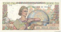 10000 Francs GÉNIE FRANÇAIS FRANCE  1950 F.50.31 SUP