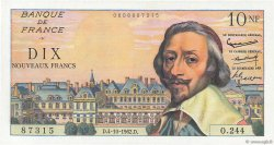 10 Nouveaux Francs RICHELIEU FRANCE  1962 F.57.21 NEUF