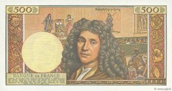 500 Nouveaux Francs MOLIÈRE FRANCE  1960 F.60.02 SUP+