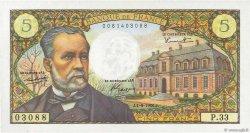 5 Francs PASTEUR FRANCE  1966 F.61.03 NEUF