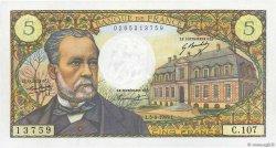 5 Francs PASTEUR FRANCE  1969 F.61.10 pr.NEUF