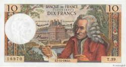 10 Francs VOLTAIRE FRANCE  1963 F.62.05 NEUF