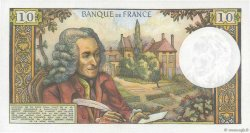 10 Francs VOLTAIRE FRANCE  1972 F.62.54 pr.NEUF