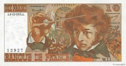 10 Francs BERLIOZ FRANCE  1973 F.63.02 SUP
