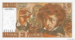 10 Francs BERLIOZ FRANCE  1974 F.63.04 SPL+
