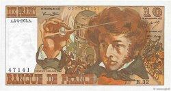 10 Francs BERLIOZ FRANCE  1974 F.63.04 SPL+