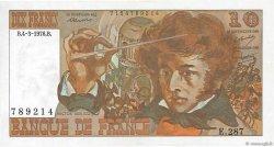 10 Francs BERLIOZ FRANCE  1976 F.63.18 SPL+