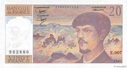 20 Francs DEBUSSY FRANCE  1981 F.66.02 NEUF