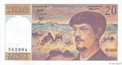 20 Francs DEBUSSY FRANCE  1982 F.66.03