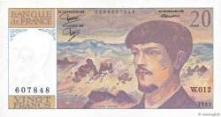 20 Francs DEBUSSY FRANCE  1983 F.66.04 SPL+