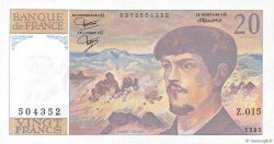 20 Francs DEBUSSY FRANCE  1985 F.66.06 SPL