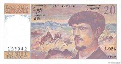 20 Francs DEBUSSY FRANCE  1989 F.66.10 pr.NEUF
