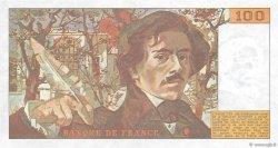 100 Francs DELACROIX modifié FRANCE  1989 F.69.13b pr.NEUF