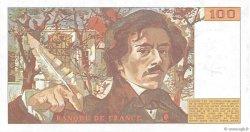 100 Francs DELACROIX modifié FRANCE  1989 F.69.13b