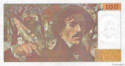 100 Francs DELACROIX imprimé en continu FRANCE  1990 F.69bis.02c pr.NEUF