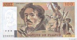 100 Francs DELACROIX imprimé en continu FRANCE  1991 F.69bis.03a4 NEUF