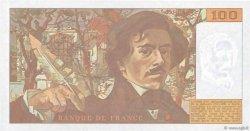 100 Francs DELACROIX imprimé en continu FRANCE  1993 F.69bis.07b NEUF
