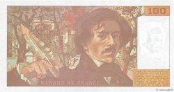 100 Francs DELACROIX imprimé en continu FRANCE  1993 F.69bis.07b pr.SPL