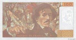 100 Francs DELACROIX imprimé en continu FRANCE  1993 F.69bis.07b pr.NEUF