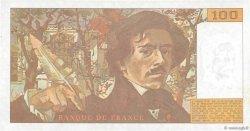 100 Francs DELACROIX imprimé en continu FRANCE  1993 F.69bis.08c SUP+