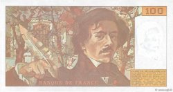 100 Francs DELACROIX imprimé en continu FRANCE  1993 F.69bis.08c pr.NEUF