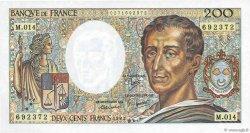 200 Francs MONTESQUIEU FRANCE  1983 F.70.03 NEUF
