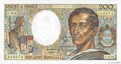 200 Francs MONTESQUIEU FRANCE  1983 F.70.03 pr.NEUF