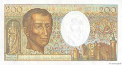 200 Francs MONTESQUIEU FRANCE  1989 F.70.09 NEUF