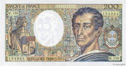 200 Francs MONTESQUIEU FRANCE  1982 F.70/2.01 NEUF