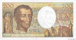 200 Francs MONTESQUIEU FRANCE  1994 F.70/2.01 pr.NEUF