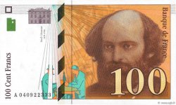 100 Francs CÉZANNE FRANCE  1998 F.74.02 NEUF
