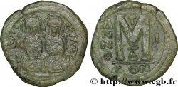 JUSTIN II et SOPHIE Follis TTB+
