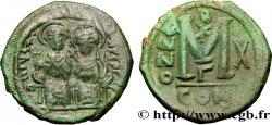 JUSTIN II et SOPHIE Follis