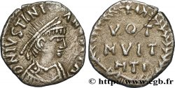 JUSTINIAN I Silique 1er type