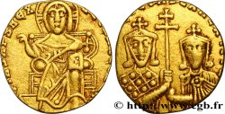 BASIL I and CONSTANTINUS Solidus
