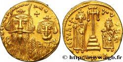 CONSTANS II, CONSTANTINE IV, HERACLIUS and TIBERIUS Solidus