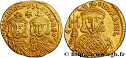 CONSTANTINE V and LEO IV Solidus