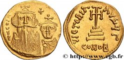 COSTANTE II and COSTANTINE IV Solidus