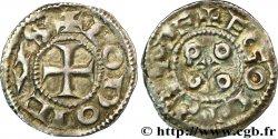 ANGOUMOIS - COMTÉ DANGOULÊME, au nom de Louis IV dOutremer (936-954) Denier SS