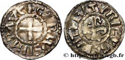 CHARLES THE BALD AND COINAGE AT HIS NAME Denier